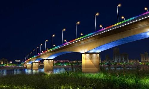 亮化工程介绍道路亮化的灯具