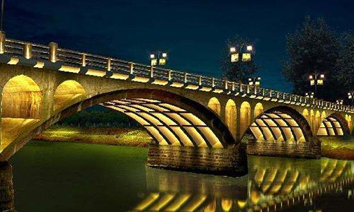 浅析桥梁景观亮化工程原理